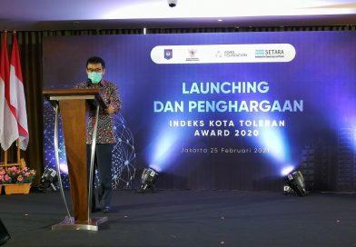 Keren! Kota Salatiga Raih Penghargaan Kota Paling Toleran di Indonesia