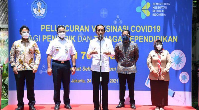 Presiden Jokowi Targetkan Juli Mulai Pembelajaran Tatap Muka
