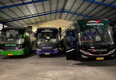Kasus Korupsi PT Asabri, 17 Bus PO Restu Wijaya Boyolali Disita